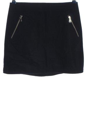 Gap Wełniana spódnica czarny W stylu biznesowym
