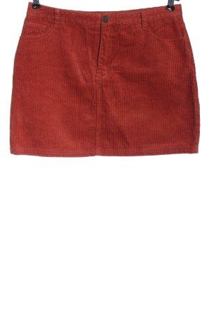 Garage Miniskirt red casual look