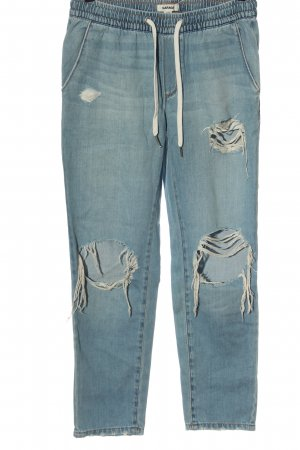 Garage Straight Leg Jeans blue casual look
