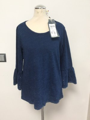 Garcia Jeans 3/4 Arm Shirt jeansblau Gr L / 38/40 - neu