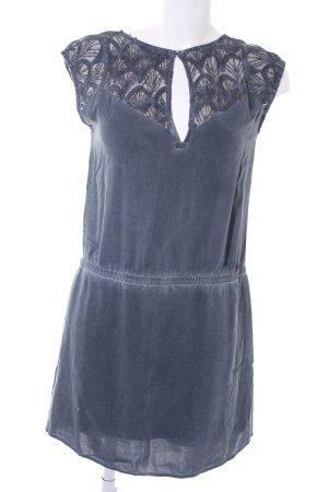 Garcia Jeans A-Linien Kleid dunkelgrau-grau Casual-Look