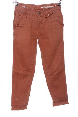 Garcia Jeans Pantalon «Baggy» brun style décontracté