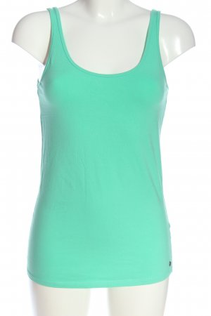 Garcia Jeans Camisole groen casual uitstraling