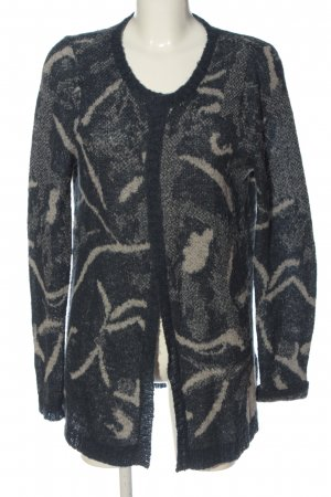 Garcia Jeans Cardigan abstraktes Muster Casual-Look