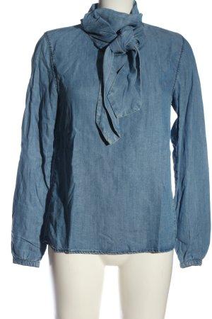 Garcia Jeans Chemise en jean bleu style décontracté