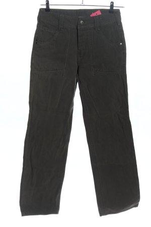 Garcia Jeans Jeans flare gris clair style décontracté
