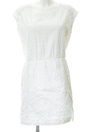 Garcia Jeans Shortsleeve Dress white Logo application (metal)