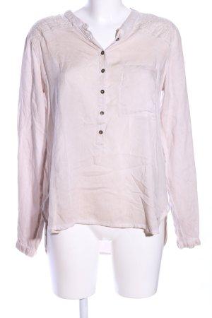 Garcia Jeans Langarm-Bluse pink Casual-Look
