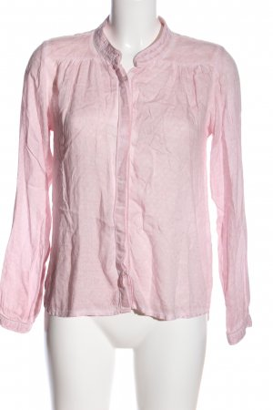 Garcia Jeans Langarmhemd pink Allover-Druck Casual-Look
