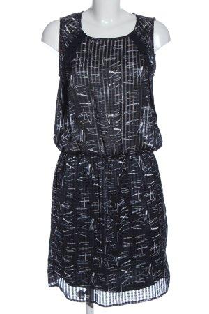 Garcia Jeans Midi Dress black-white polyester