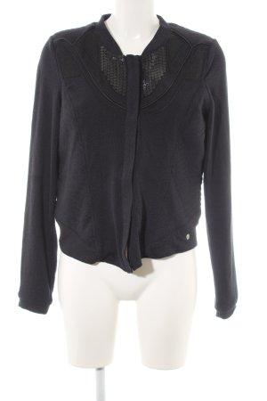 Garcia Jeans Outdoorjacke dunkelblau-schwarz Street-Fashion-Look