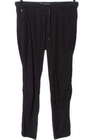 Garcia Jeans Pantalon de jogging noir imprimé allover style décontracté