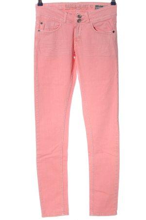 Garcia Jeans Röhrenhose pink Casual-Look