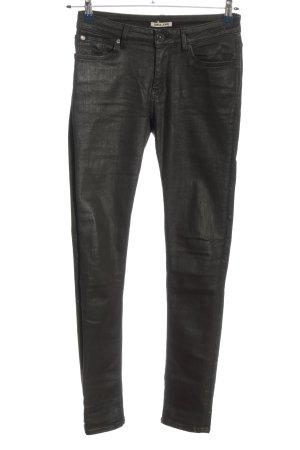Garcia Jeans Röhrenjeans schwarz Casual-Look