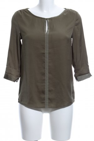 Garcia Jeans Schlupf-Bluse khaki Casual-Look