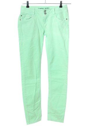 Garcia Jeans Skinny Jeans grün Casual-Look