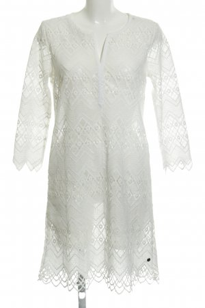 Garcia Jeans Lace Dress natural white