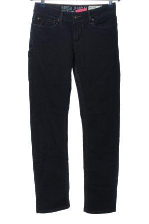 Garcia Jeans Straight-Leg Jeans schwarz Casual-Look