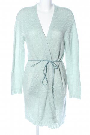 Garcia Jeans Knitted Coat turquoise casual look