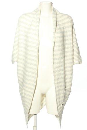 Garcia Jeans Smanicato lavorato a maglia bianco sporco-grigio chiaro