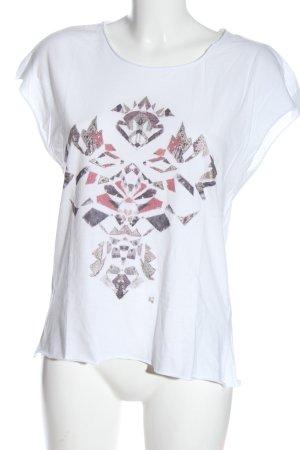 Garcia Jeans T-Shirt Motivdruck Casual-Look