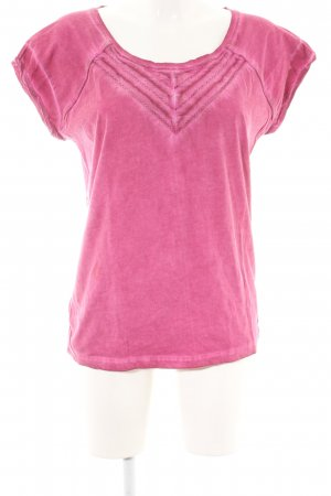 Garcia Jeans T-Shirt pink Casual-Look