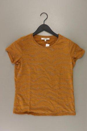 Garcia Jeans T-Shirt Größe S Kurzarm mit Glitzer gelb