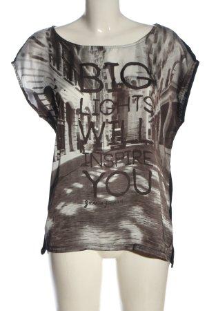 Garcia Jeans Boothalsshirt prints met een thema elegant