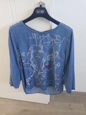 Garcia Jeans Denim Blouse blue