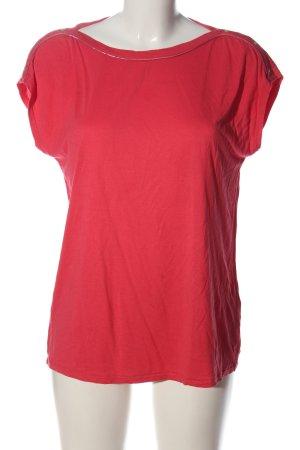 Garcia T-shirt rouge style décontracté