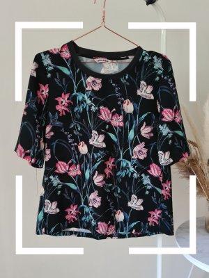 Garcia Shirt, geblümt, Gr. L
