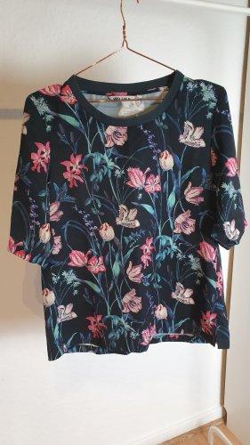 Garcia Shirt mit Blumen