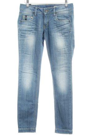 Garcia Skinny Jeans himmelblau-kornblumenblau Casual-Look