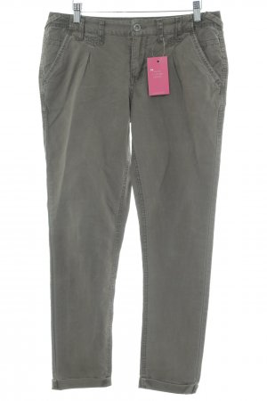 Garcia Jersey Pants grey brown Logo application (metal)