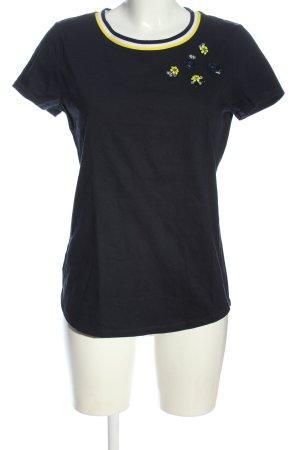 Garcia T-shirts en mailles tricotées noir style décontracté