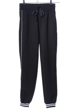 Sweat Pants black casual look