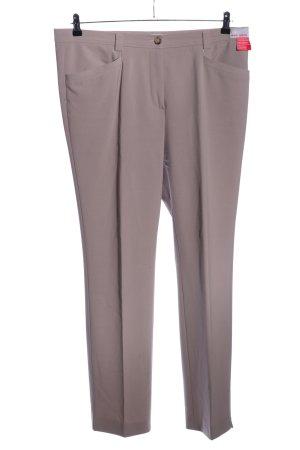 Gardeur Pantalone da abito lilla stile professionale