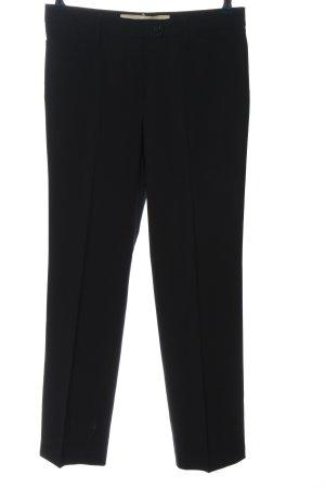 Gardeur Pantalone da abito nero stile casual