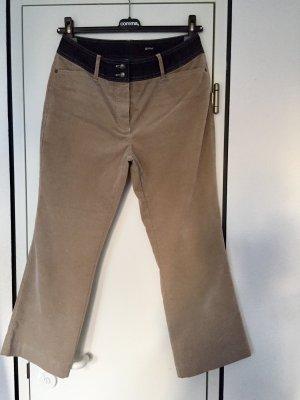 Gardeur Pantalone a 7/8 marrone-grigio