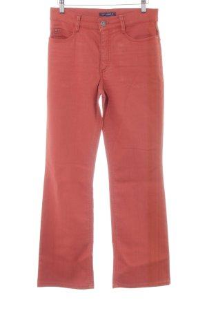 Gardeur Boot Cut Jeans rostrot Casual-Look