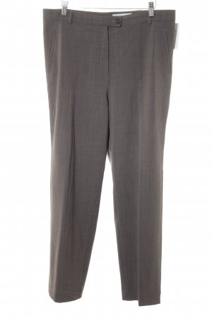 Gardeur Bundfaltenhose graubraun Business-Look