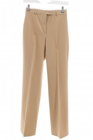 Gardeur Bundfaltenhose sandbraun Business-Look