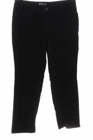 Gardeur Corduroy Trousers black casual look