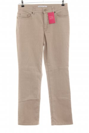 Gardeur Pantalon cinq poches crème style décontracté