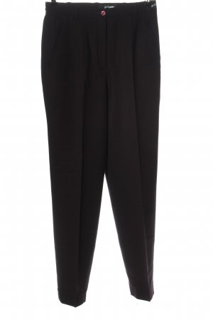 Gardeur Pantalone a vita alta marrone stile professionale