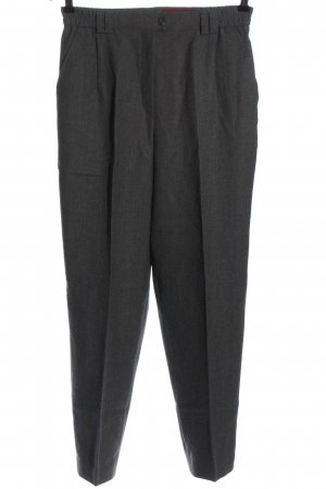 Gardeur Pantalone a vita alta grigio chiaro puntinato stile professionale