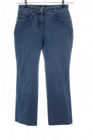 Gardeur High Waist Jeans blau Casual-Look