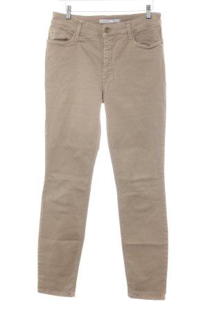 Gardeur Hoge taille jeans camel casual uitstraling