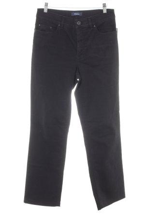 Gardeur Hoge taille jeans zwart casual uitstraling