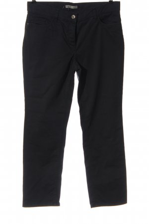 Gardeur Low-Rise Trousers black casual look